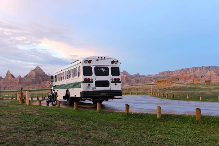 Badlands National Park campground