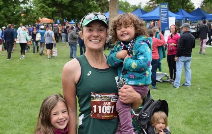 Runner Julie Olsen
