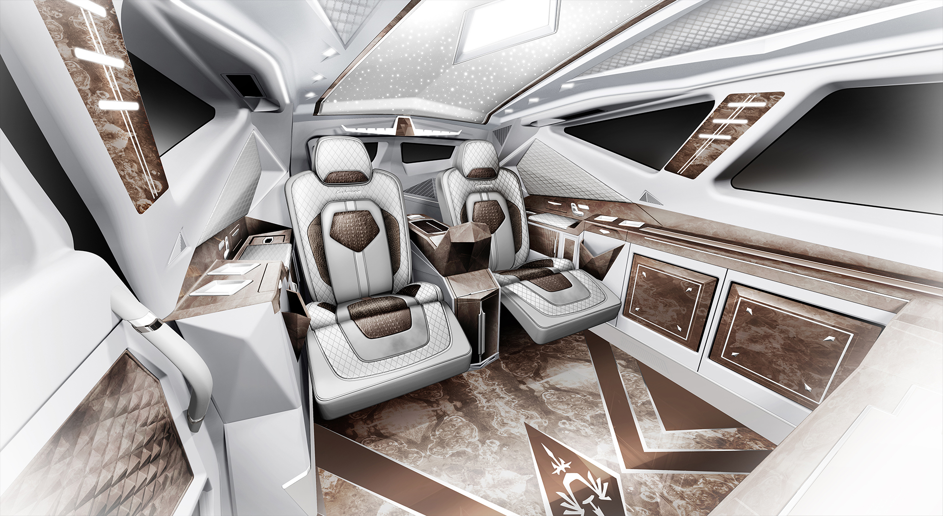 Karlmann king meet the world s most expensive suv for Worlds best interiors