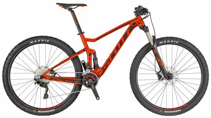 Scott Spark 970 full-suspension mountain bike