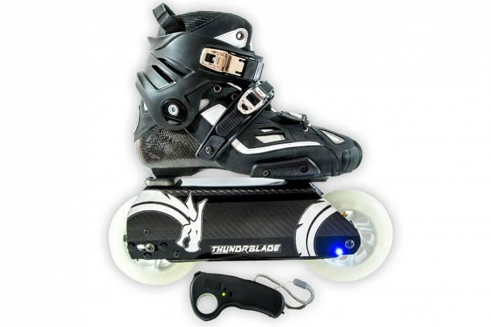 Thunder Blades remote-control electric inline skates