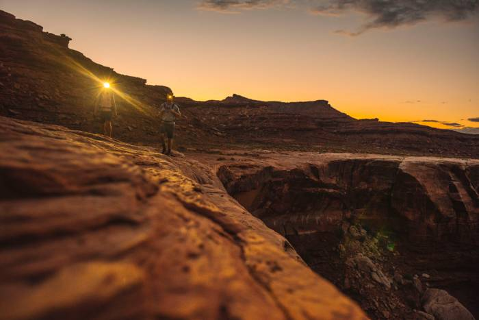 Columbia gear in Canyonlands