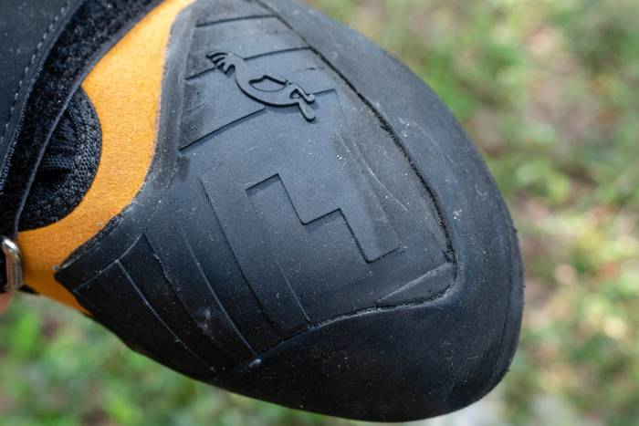 Five Ten Anasazi Pro toe rubber last