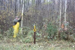 Ice Age Trail - Lumbercamp