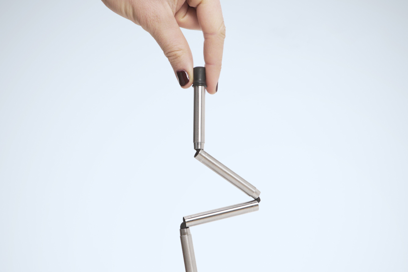 Foldable stainless steel FinalStraw