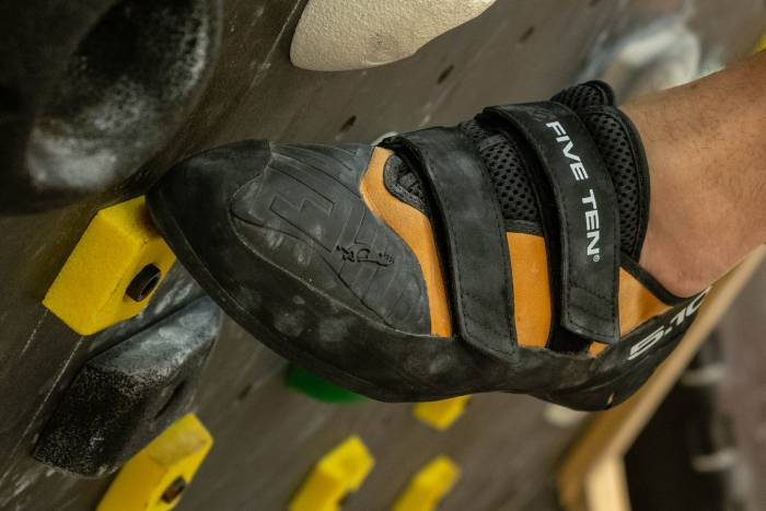 Five Ten Anasazi Pro climbing shoe gym