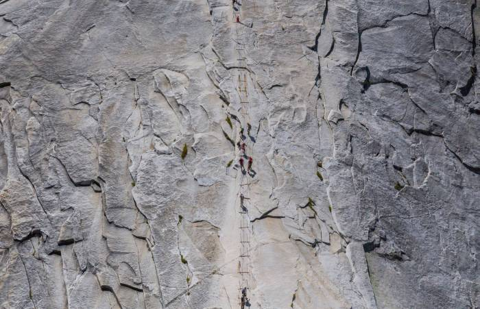 Yosemite Half Dome cable route fatality