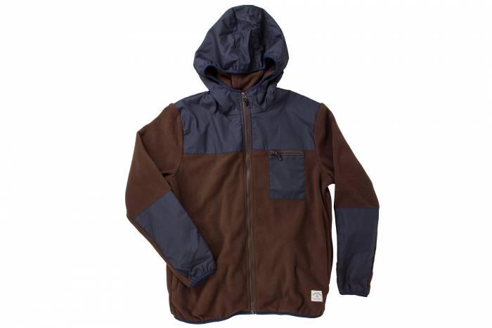 iron and resin camp fleece
