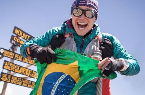 kilimanjaro womans fkt Fernanda