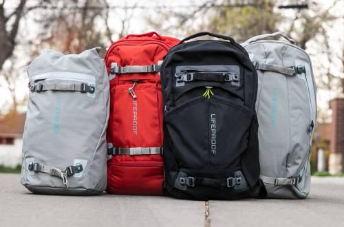 LifeProof backpack launch