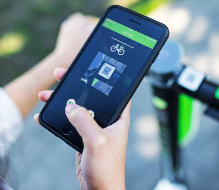 Lime Scooter app