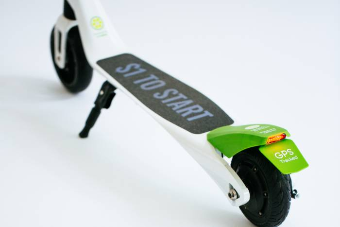 Lime-S electric scooter