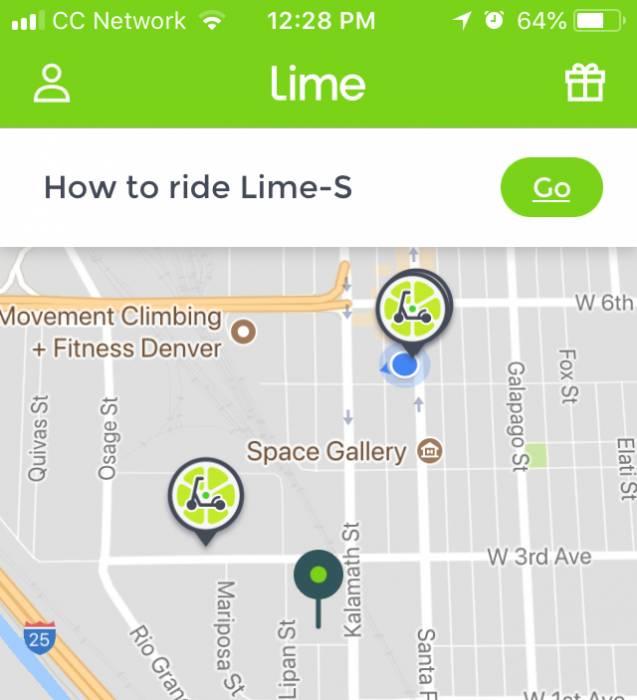 Lime app