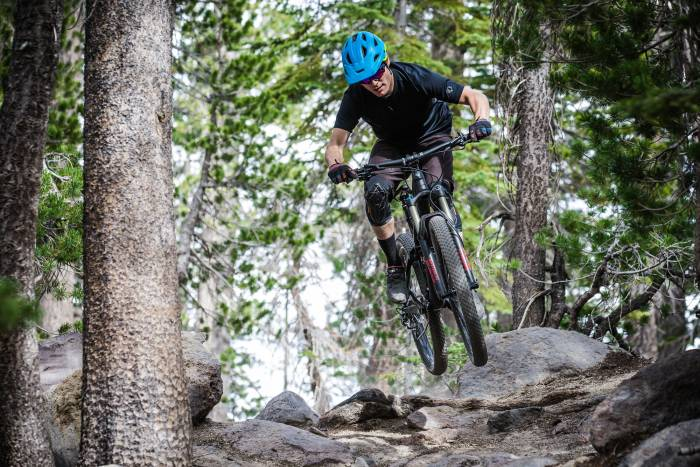 Rutted trails at Mammoth Park will see e-bike traffic