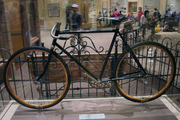 Original Wright Brother bicycle