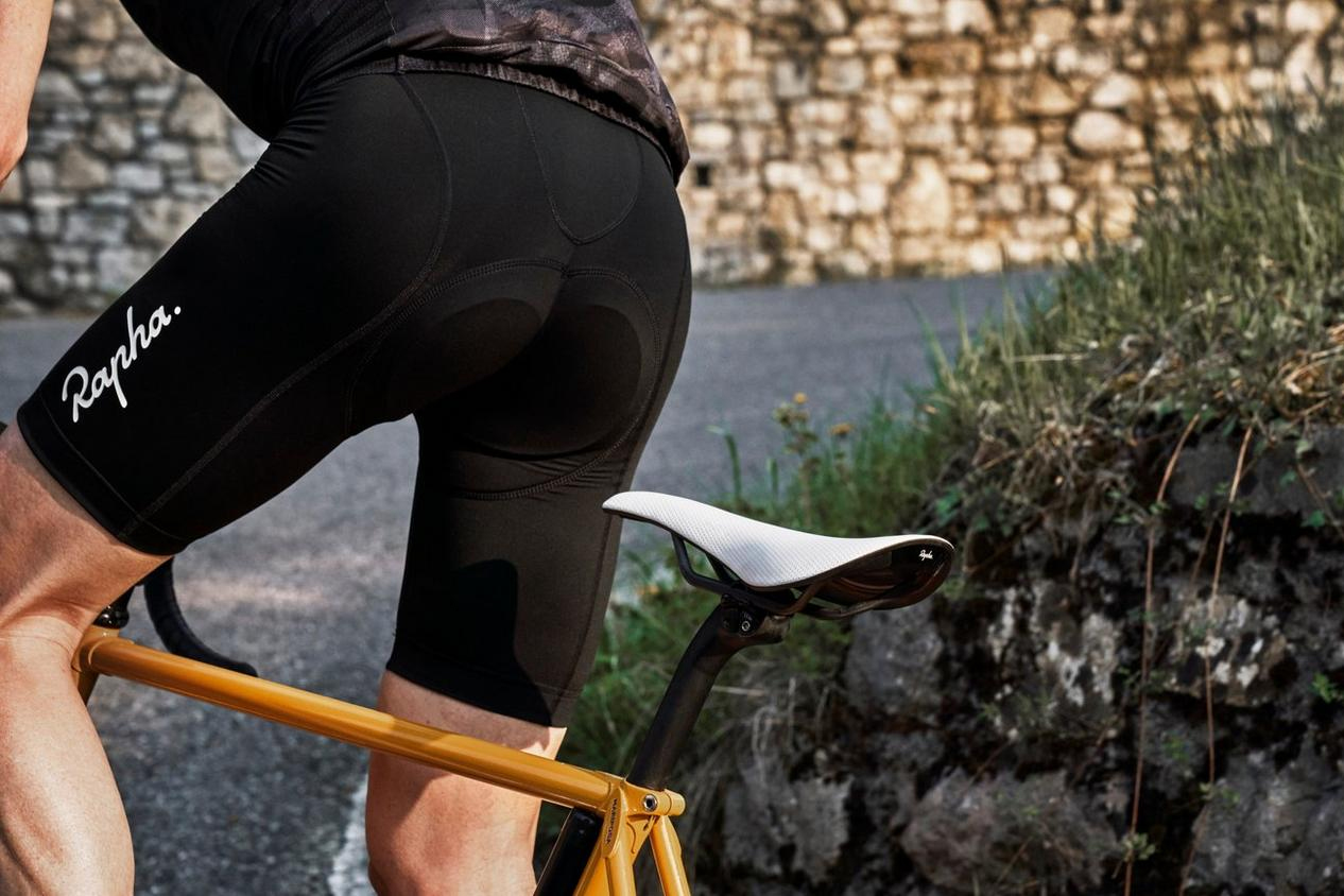 Rapha Classic saddle and bib shorts