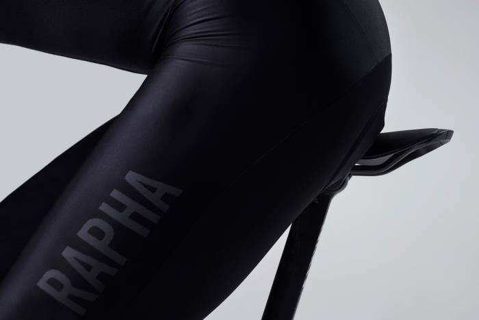 Rapha bib shorts on Rapha saddle