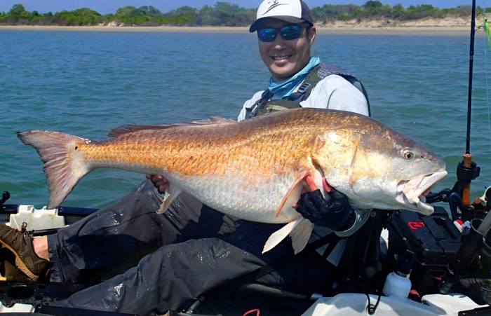 53 pound red drum rob choi world record