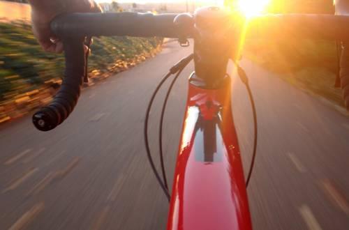 Road cycling handlebars