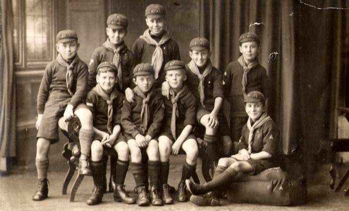 Cub Scouts from the 1920s