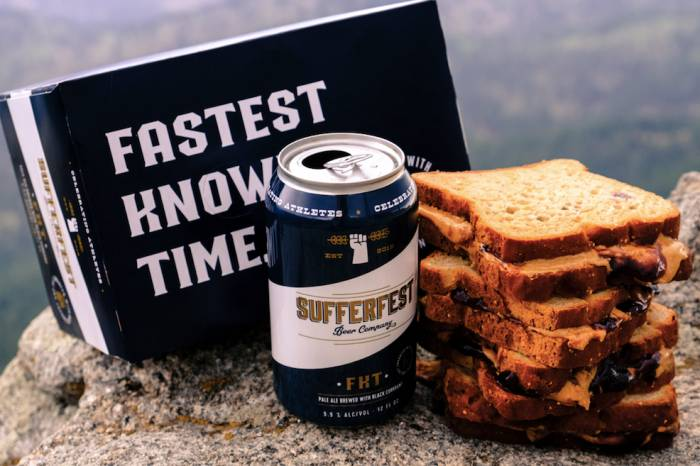 Sufferfest FKT Pale Ale electrolyte beer