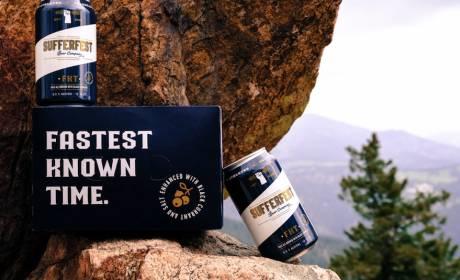 Sufferfest FKT Pale Ale electrolyte beer