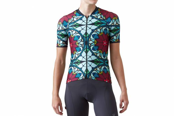Veloccio Women's stained glass jersey