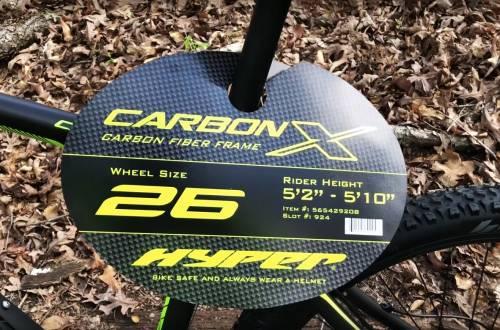 Walmart Hyper Carbon X mountain bike