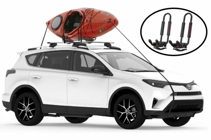 Yakima JHook Kayak Rack