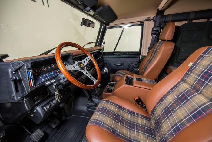1995 Restored Land Rover Defender 90