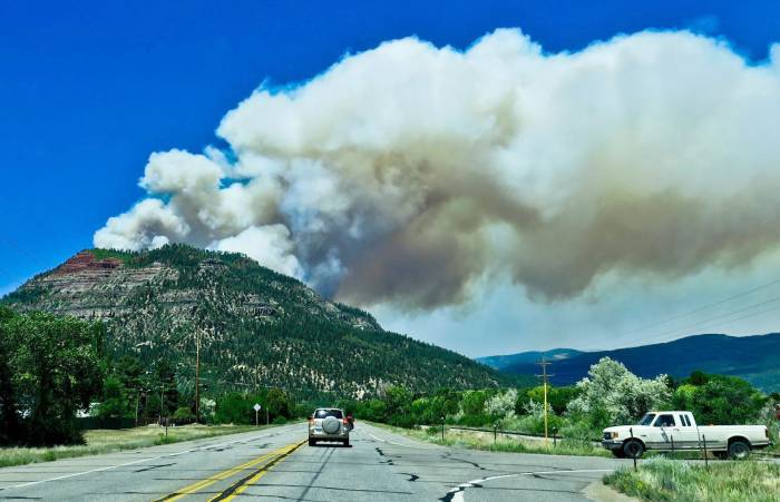 416 Fire San Juan National Forest Closure