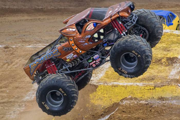 Brutus monster truck designed by Jason Becker
