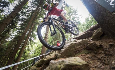 Mountain bike tire pressure