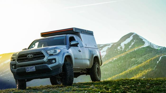 Go Fast Campers Platform