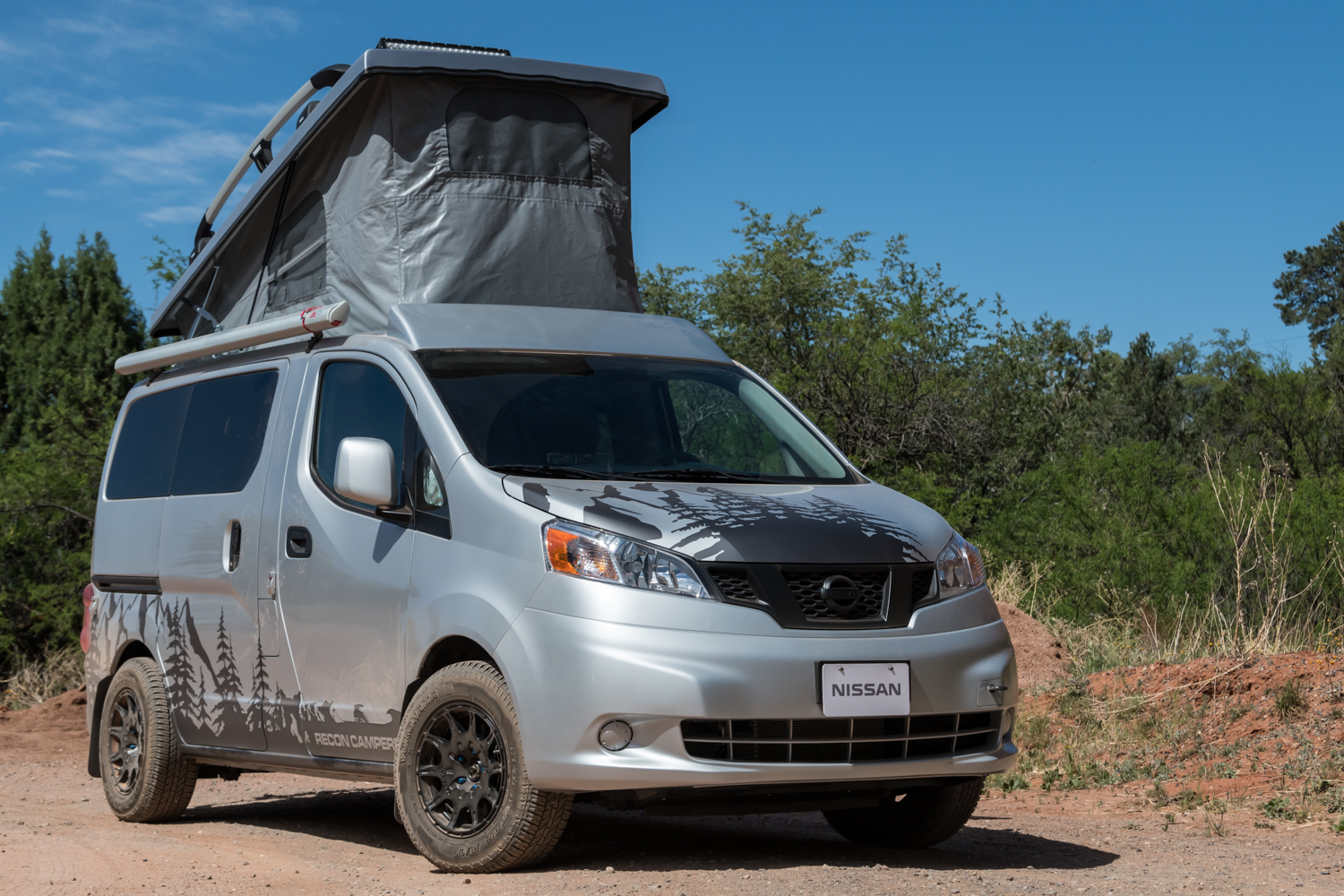 Nissan Nv2500 Camper >> Recon Fills Small Camper Void With Custom Nissan
