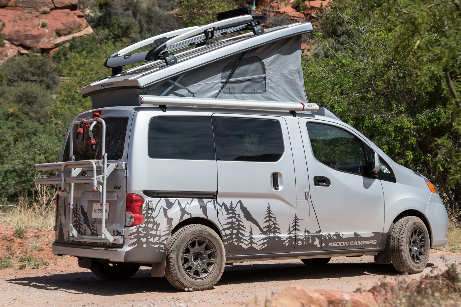4d35c9648d Recon Fills Small Camper Void With Custom Nissan