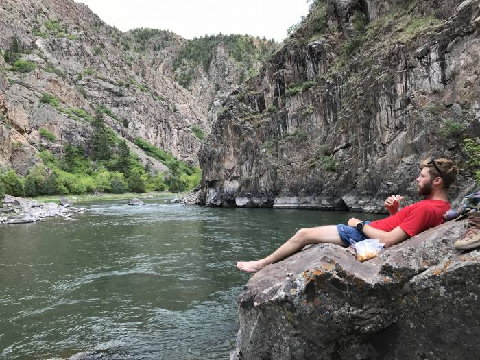 picnic at Black Canyon of the Gunnison