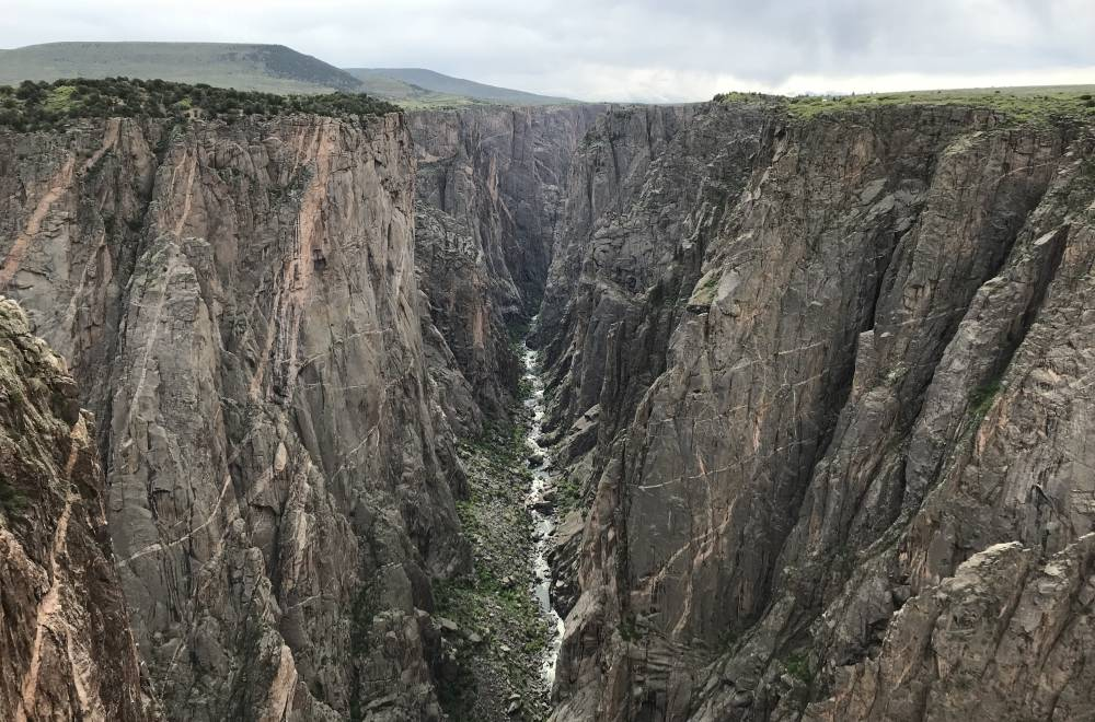 Black Canyon of the Gunnison exclamation point
