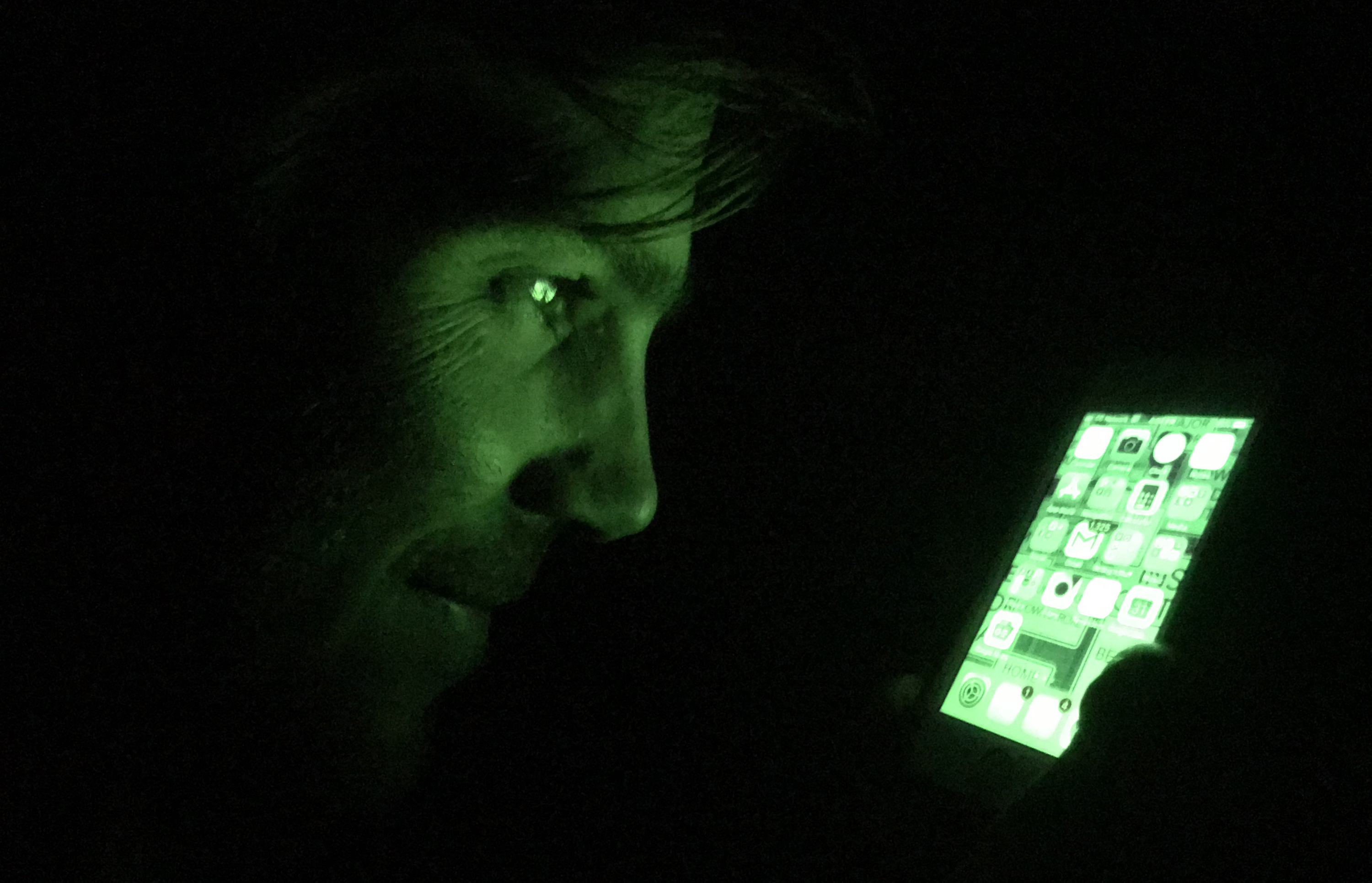 The iPhone Night Vision Hack Every Adventurer Needs