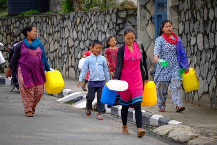 MSR SE200 clean water in Nepal