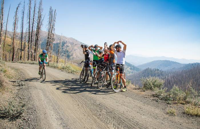 Bike training camp Idaho