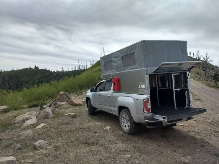 The Lightweight Pop Top Truck Camper Revolution Expeds