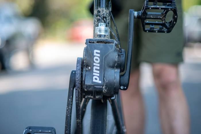Priority 600 Pinion gear box