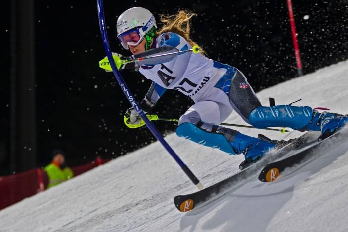 Resi Stiegler pro skier