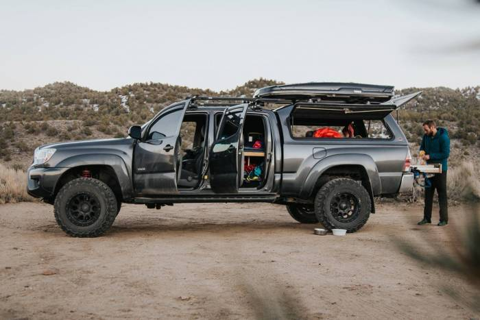 Living in a Toyota Tacoma