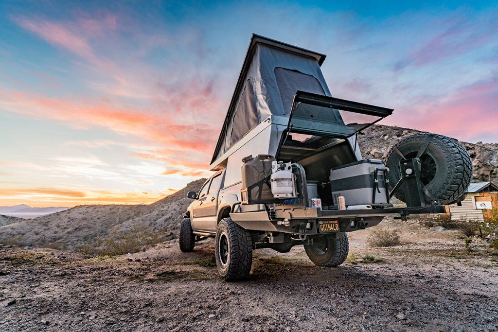 The Lightweight Pop-Top Truck Camper Revolution