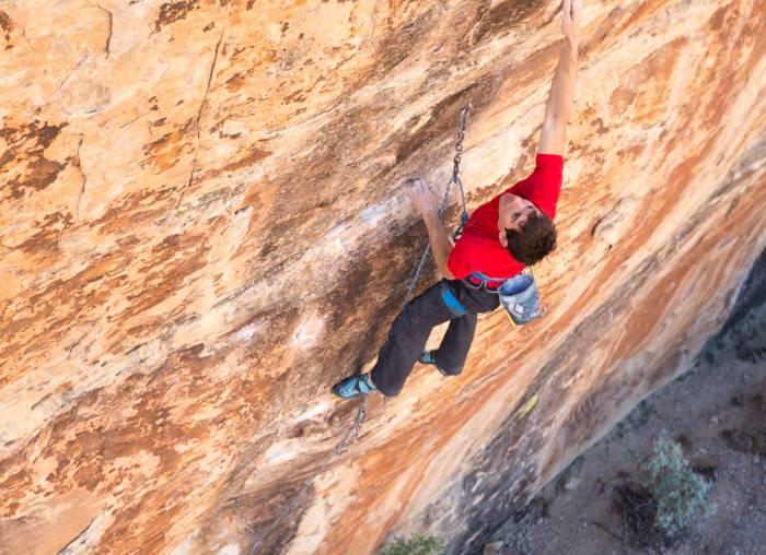 No-Edge climbing shoe