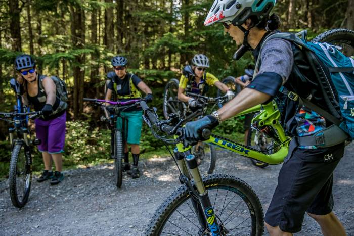 mountain biking instruction
