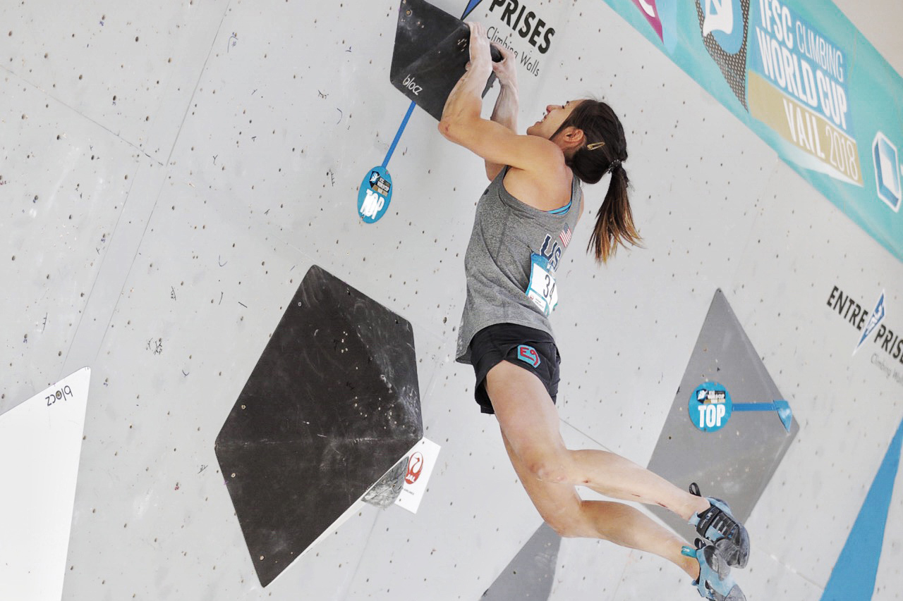 Alex Puccio Wins Gold in Vail