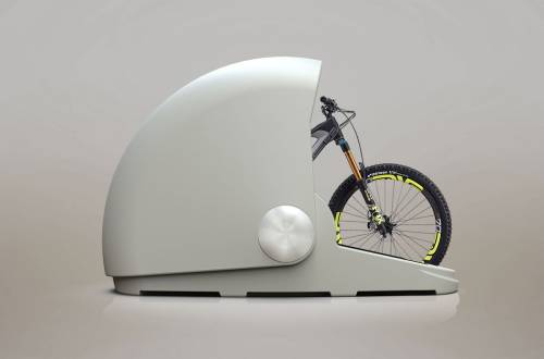 Alpen Bike Shelter Storage